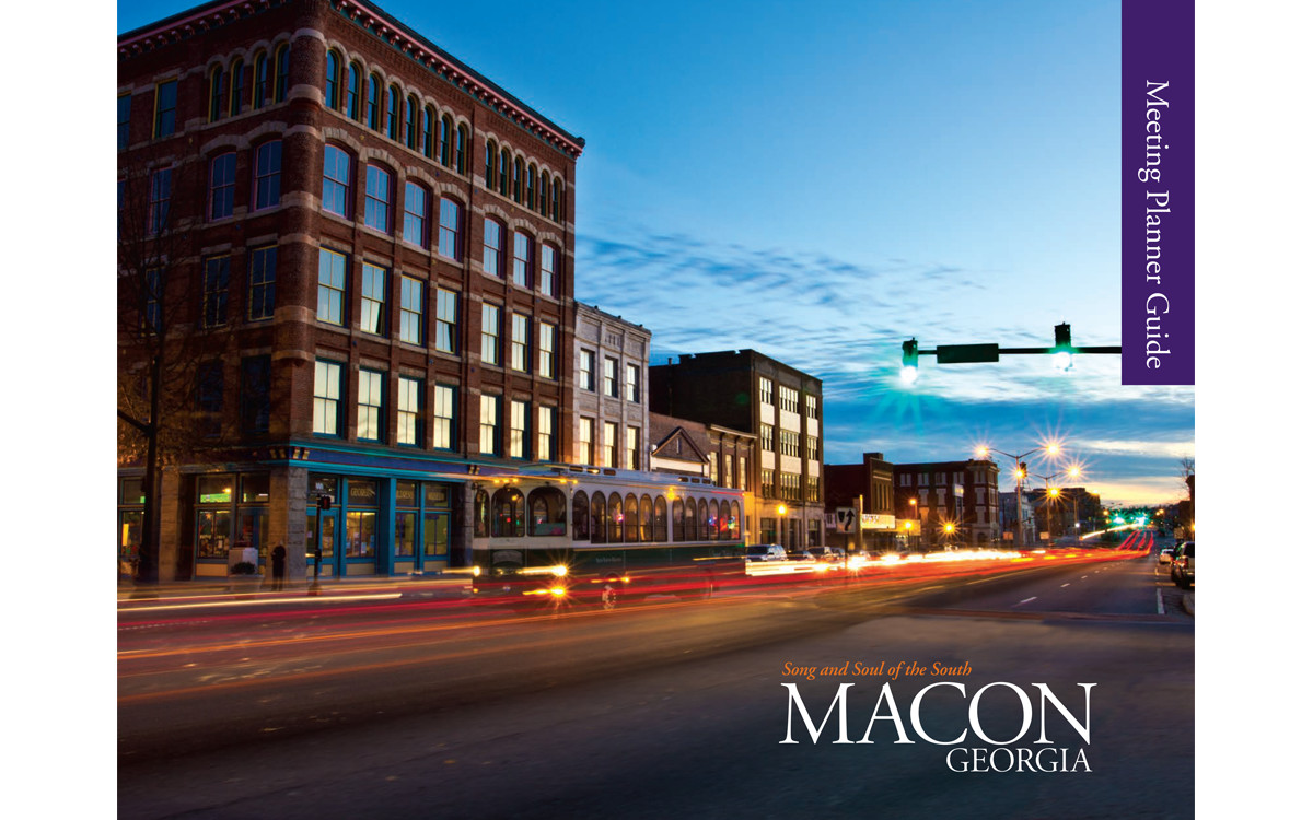 Macon CVB Planner Guide Cover