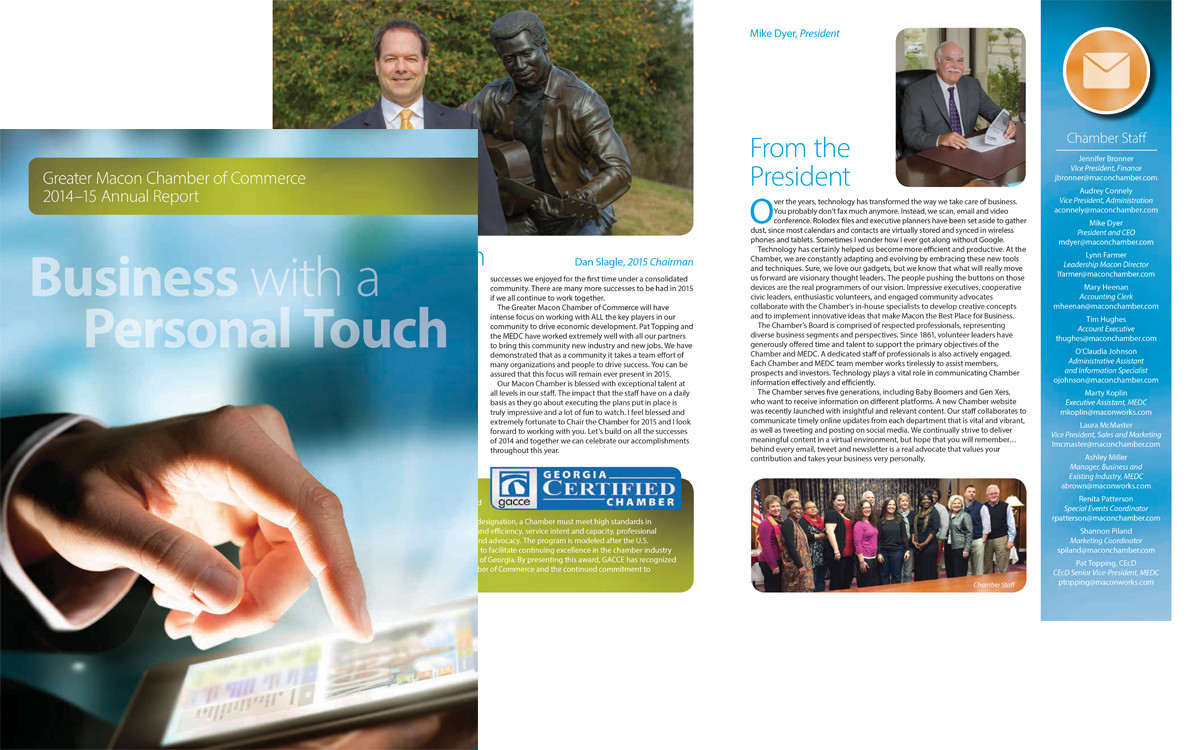 Macon Chamber Annual Report 2015