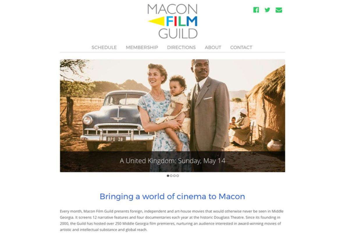 Macon Film Guild Website